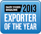 2013 Dairy Foods Magazine Exporter of the Year